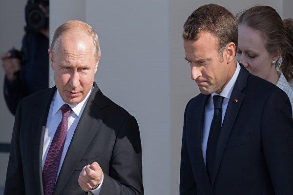 روتیرز: مخالفت ماکرون با طرح موشکی روسیه