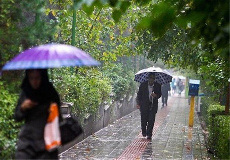بارش پراکنده باران در ارتفاعات تهران پیش بینی می گردد
