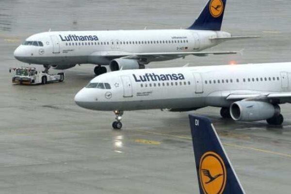 لوفت هانزا 25 درصد پروازهای خود را لغو کرد