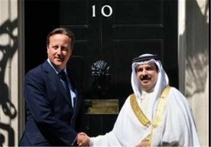 اعتراض بحرینی های مقیم لندن به سفر پادشاه این کشور به انگلیس