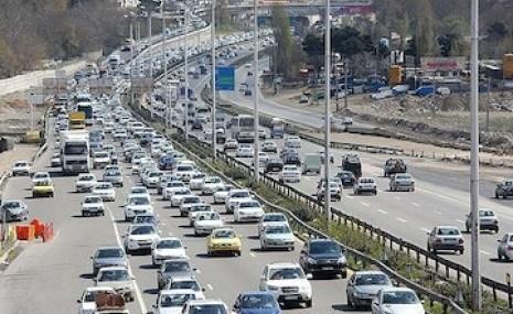محدودیت در آزادراه تهران-شمال تا عید فطر، آزادراه قزوین - رشت مسدود است
