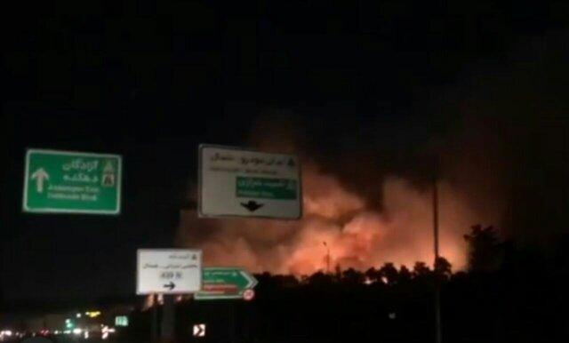 آتش چیتگر خاموش شد، اعلام دلیل شعله زیاد حریق