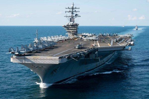 3 ناو هواپیمابر آمریکا در اطراف آبهای چین مستقر شدند
