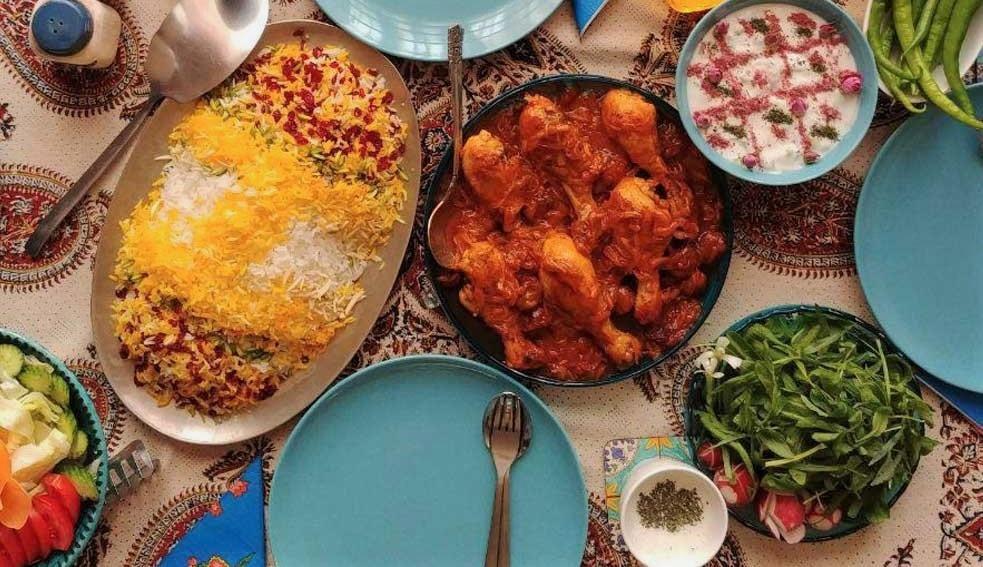 طرز تهیه خورش مرغ افشاری یا مجلسی برای مهمانی و مجالس