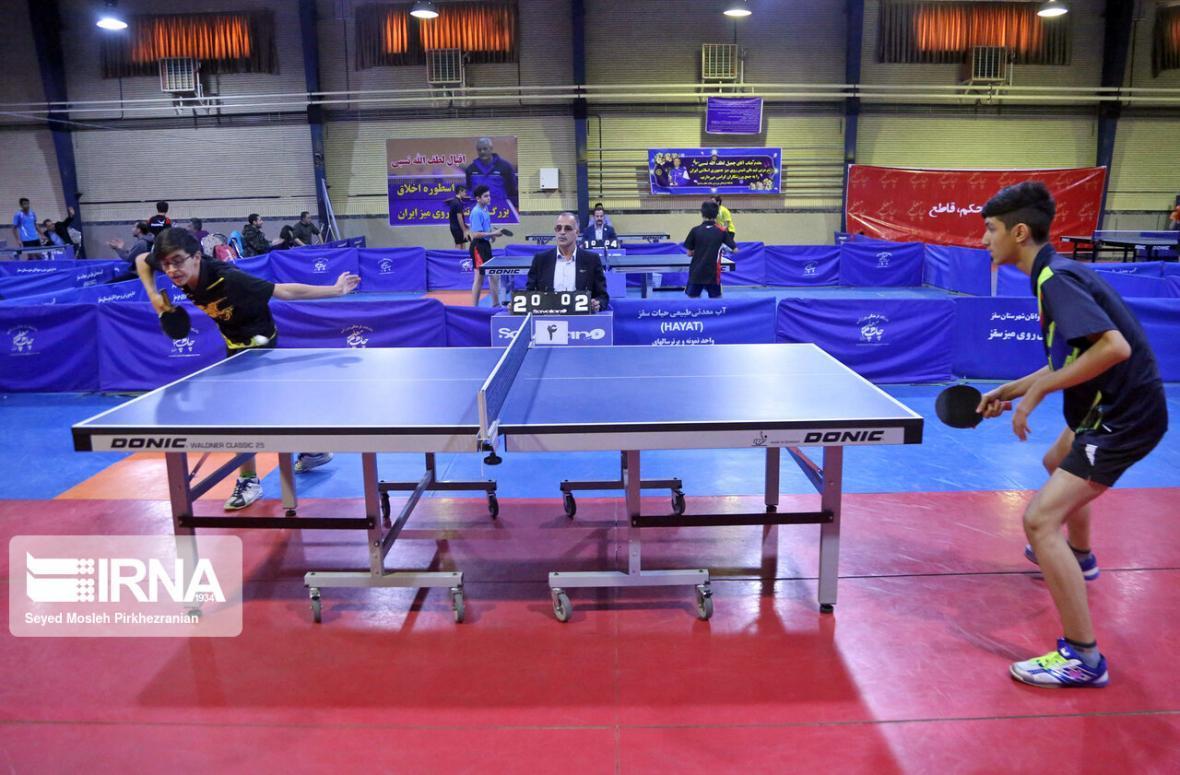 خبرنگاران رئیس فدراسیون تنیس روی میز: امیدوار به کسب سهمیه المپیک در بخش زنان و مردان هستیم