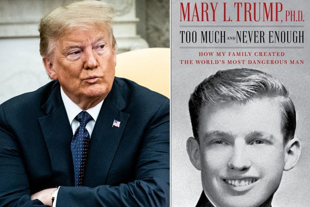 افشاگری مری ال ترامپ درباره عمویش، خودشیفته ای دیوانه و مجنون