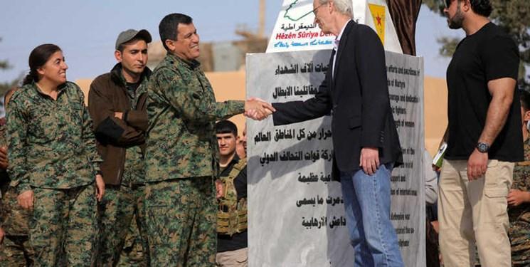 اقدام جدید شبه نظامیان کُرد و تروریست های آمریکایی برای غارت نفت سوریه