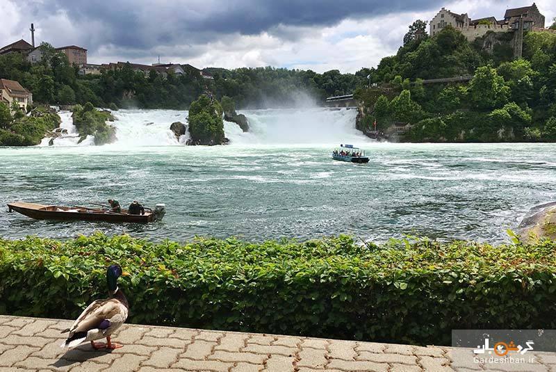 آبشارهای راین، بزرگ ترین صفحه آبشار اروپا، عکس