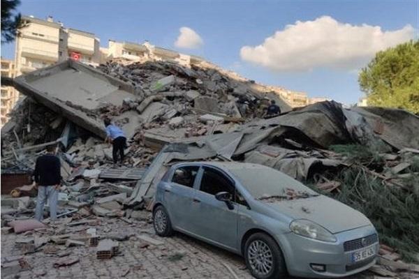آخرین اخبار از زلزله ازمیر، 25 جان باخته و 804 مجروح
